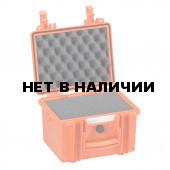 Кейс EXPLORER мод.2214.O оранжевый с поропластом