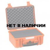 Кейс EXPLORER мод.3818.O оранжевый с поропластом