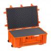 Кейс EXPLORER мод.7630.O оранжевый с поропластом