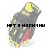 Перчатки Mechanix. SAFETY ORHD желт./красн.