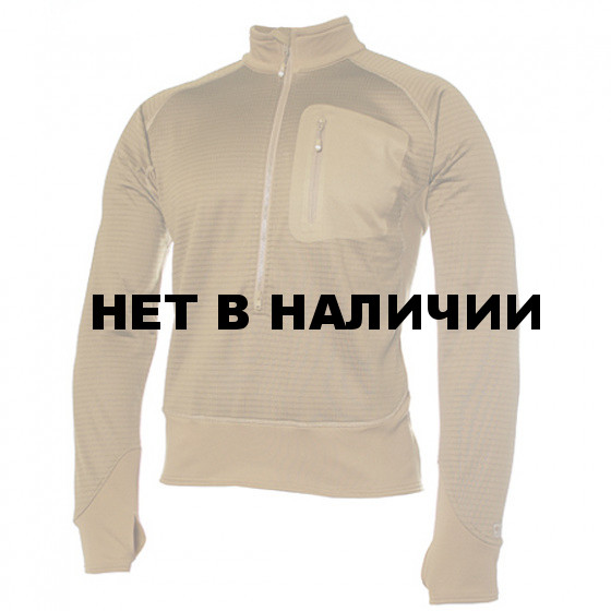 Куртка 3/4 Zip Grid Fleece Pullover Coyote Brown BLACKHAWK