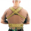 Жилет S.T.R.I.K.E. Commando Recon Chest Harness Coyote Tan BLACK