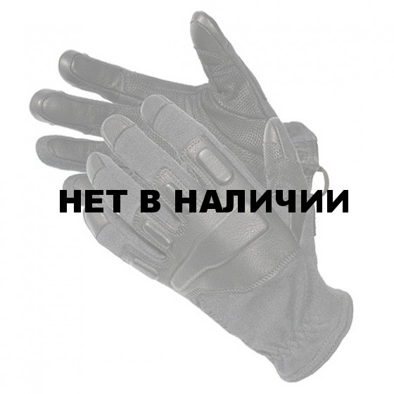 Перчатки Fury Commando Glove - w/Kevlar BLACKHAWK black