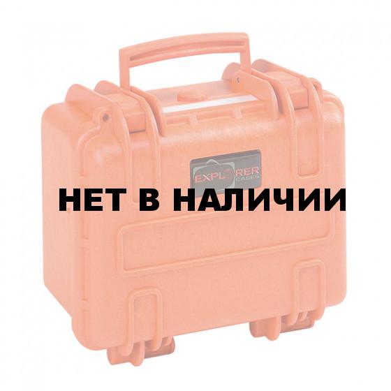 Кейс EXPLORER мод.2717.O оранжевый с поропластом