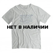 Футболка Original Tee Heather Grey Alpha Industries
