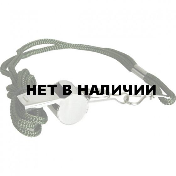 Свисток металлический со шнурком