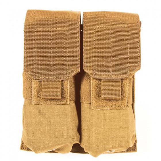 Подсумок для магазинов S.T.R.I.K.E. M4 Double Mag Pouch Blackhawk coyote tan