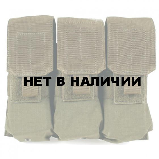Подсумок для магазинов S.T.R.I.K.E. M4 Triple Mag Pouch BLACKHAW