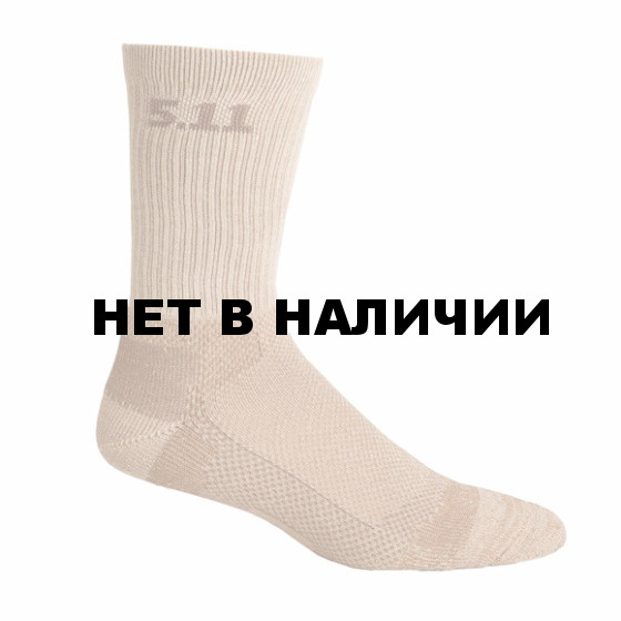 Носки 5.11 Level I 6 Sock coyote brown L
