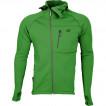 Куртка Island Polartec Power Stretch с капюшоном eucaliptus