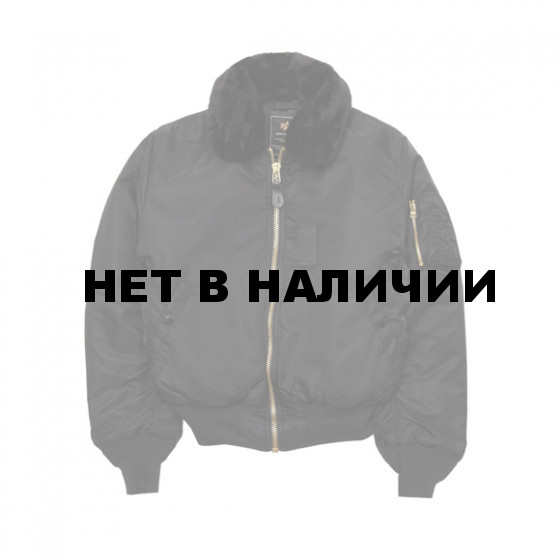 Куртка B-15 Alpha Industries black