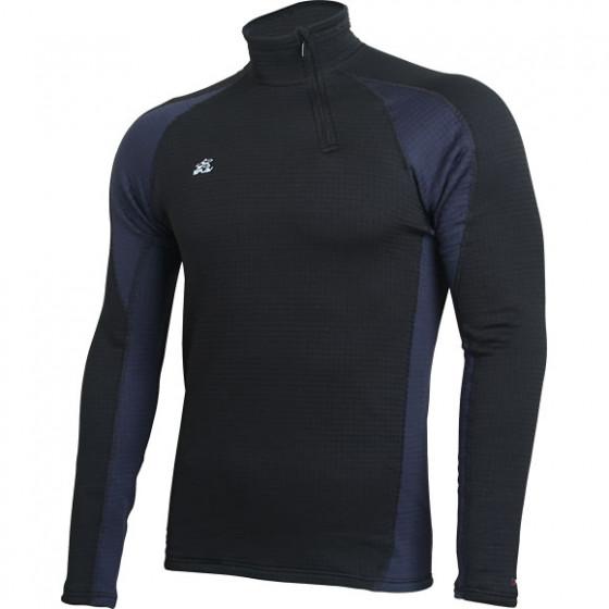 Термобелье футболка L/S Active Polartec Thermal Grid черный/синий