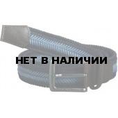 Ремень плетеный Fishbone blue/azure