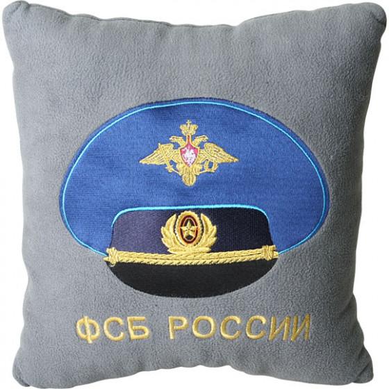 Подушка сувенирная ФСБ России вышитая