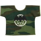 Рубашка-сувенир Военная разведка камуфлированная вышивка