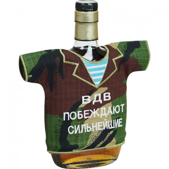 Рубашка-сувенир ВДВ Побеждают сильнейшие вышивка