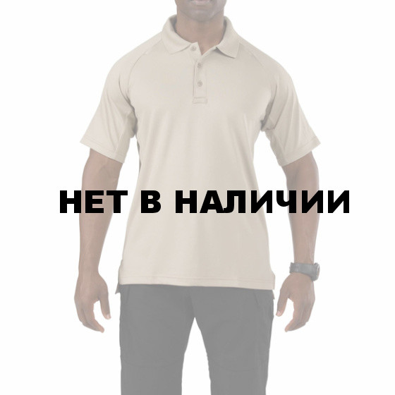 Рубашка 5.11 Performance S/S polo silver tan