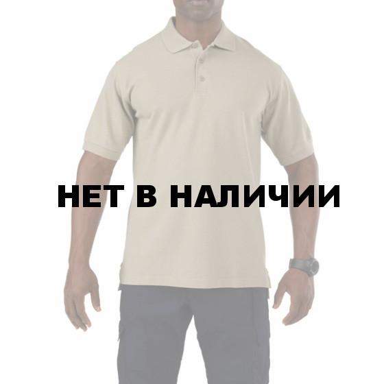 Рубашка 5.11 Professional S/S Polo EU silver tan
