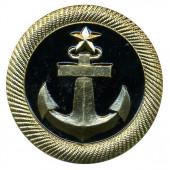 Кокарда Торговый флот металл