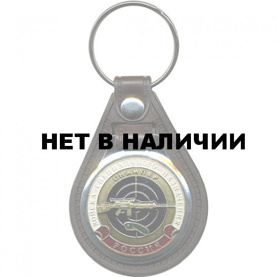 Брелок Россия ВСН Снайпер красный берет на подложке