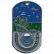 Жетон 6-21 Воздушно-десантные войска десантник металл