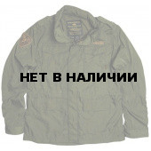 Куртка Nylon M-65 With Patches Alpha Industries