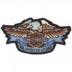 Термонаклейка -1067 Harley Davidson Motor вышивка