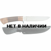 Нож Охотник-2 кожа (Мастер Гарант)