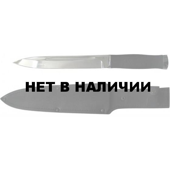 Нож Горец -1 нерж. резина (Титов)