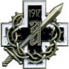 Магнит Знак конного генерала Алексеева полка металл