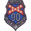 Термонаклейка -03021106 Alabama 90 вышивка
