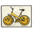 Термонаклейка -0746 Велосипед со смайликами вышивка