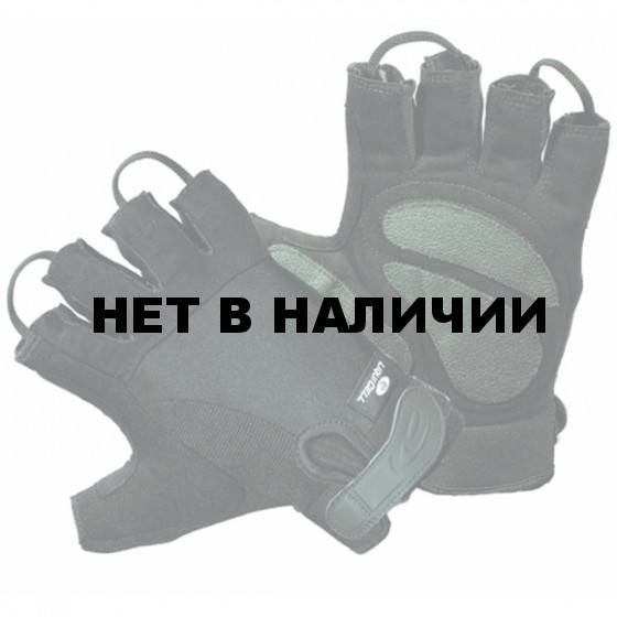 Перчатки Hatch HGHLG250 ShearStop 1/2 Finger Cycle Gloves black