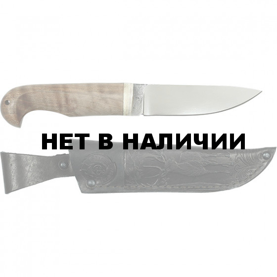 Нож Коготь большой ст. Х12МФ (Захарова)