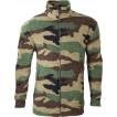 Куртка спортивная 3 Woodland флис