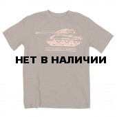 Футболка M4A2 Sherman Heather Olive Alpha Industries 3XL