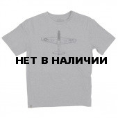 Футболка P-51B Mustang Heather Gray Alpha Industries