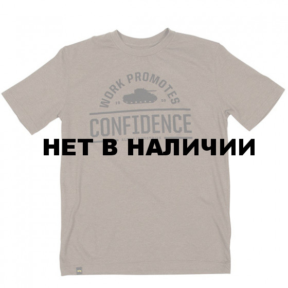Футболка Confidence Heather Olive Alpha Industries