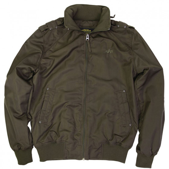 Куртка Slavin Olive Green Alpha Industries