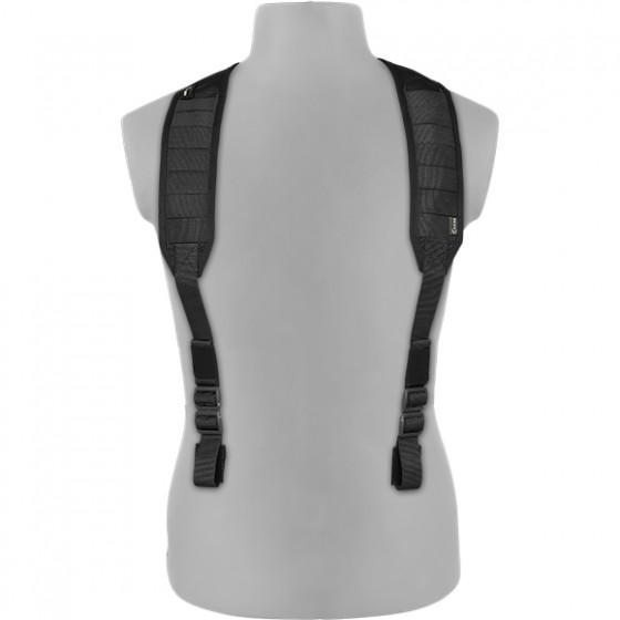 Лямки плечевые универсальные облегченные v.3 черные