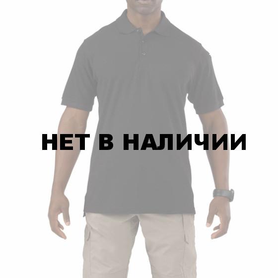 Рубашка 5.11 S/S Utility Polo black 3XL