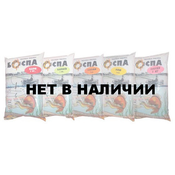 Прикормка БОСПА карп/шоколад 2.5кг ведро