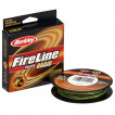 Леска плетеный шнур BERKLEY FIRELINE BRAID LO VIS GREEN