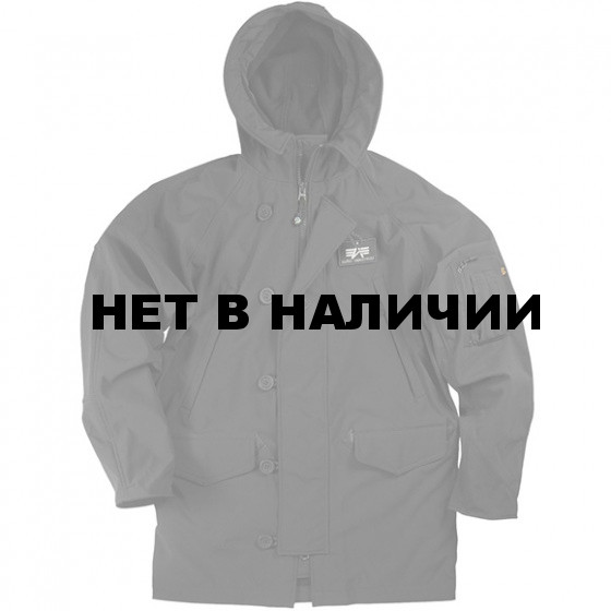 Куртка Soft Shell N-3B black Alpha Industries