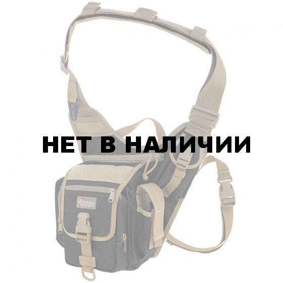 Сумка Maxpedition FatBoy Versipack black-khaki