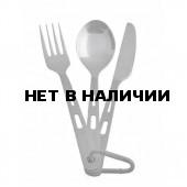 Ложка+вилка+нож титановые Optimus