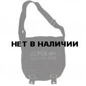 Сумка Alpha Industries Canvas Utility Bag black