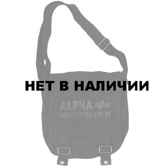 Сумка Alpha Industries Canvas Utility Bag black