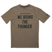 Футболка Thunder Alpha Industries heater olive/black