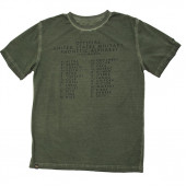 Футболка Alphabet Alpha Industries olive